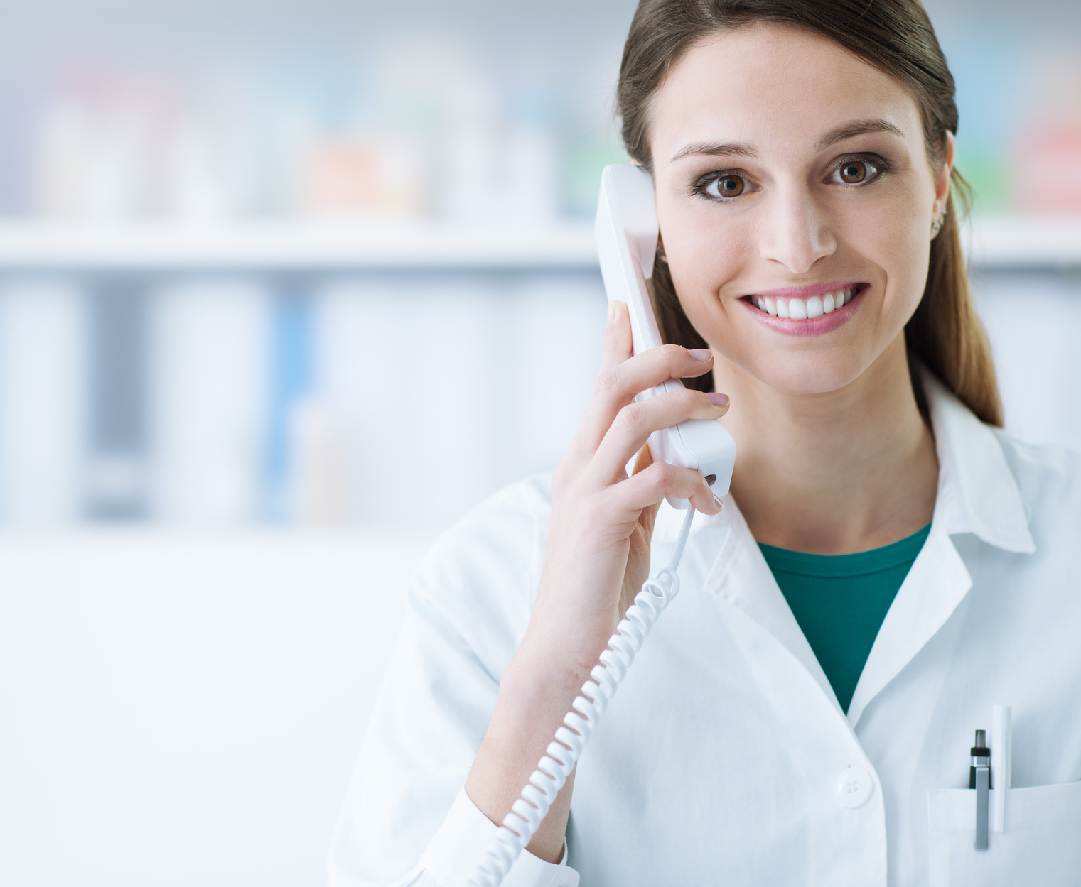 success tips for a physician phone interview fusion healthcare smiling w physician on phone
